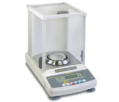 Analytische balans ABT 100-5M 101 g: 0,01 mg, incl. windkap (04103000)