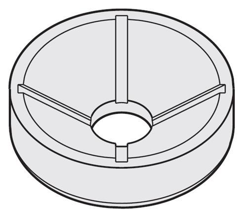 Inzetten 85 ml ronde bekers voor A-4-38 Rotor (05418009)