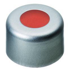 LLG aluminium krimpdoppen ND8, voorgemonteerd Aluminium,, zilver,gat