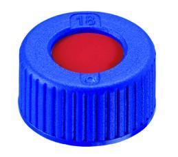 Schroefdop N9, blauw, septum silicone, gemonteerd (41291638)