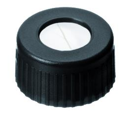 Dop, 9 mm korte schroefdraad inlage silikon/ptfe gesneden  (LLG4008226)