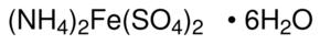Ammonium ijzer(II) sulfaat hexahydraat 99% (72215406.0100)