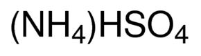 Ammoniumhydrogensulfaat zuiver   (445910025)