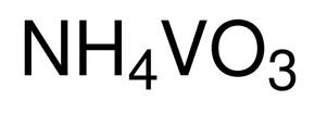 Ammoniummonovanadaat zuiver   (51001226.0100)