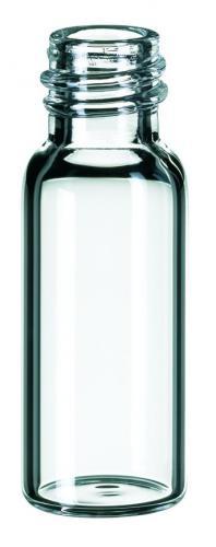Vials 1,5 ml, glas 32x11,6 mm helder, schroefnek 8-425, vlak (41003481)