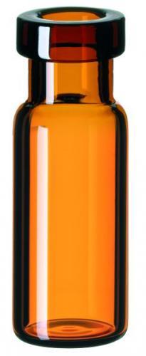 Vials 1,5 ml, glas 32x11,6 mm bruin, Crimp-nek N11 (41273633)