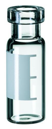 Vials 1,5 ml, glas 32x11,6 mm helder, Crimp-nek ND11, vlak (41290019)