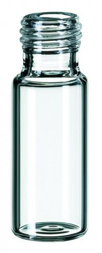 Vials 1,5 m, glas 32x11,6mm helder, schroefnek N9, vlak (49830208)