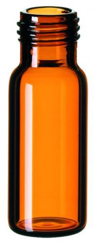 Vials 1,5 ml, glas 32x11,6 mm bruin, schroefnek ND9, vlak (LLG4008247)