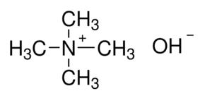 Tetramethylammonium hydroxide, 25 wt% in methanol (138350025)
