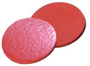 Septa ND20, natuurlijk rubber, rood/oranje, Dikte 1,30 mm (LLG7051039)