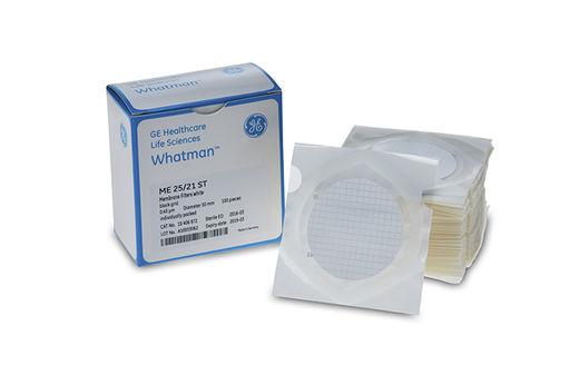 Membraanfilters ME 25/21 STL Ø 47 mm, 0,45 µm, steriel, wit (20938301)