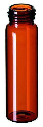 Vials 40 ml, glas 95x27,5 mm bruin, schroefnek ND24, EPA (LLG4008299)