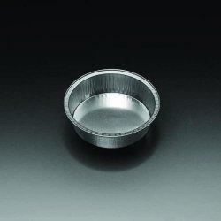 Schaaltjes aluminium Ø 96-78mm h. 24 mm, 125 ml (34803015)