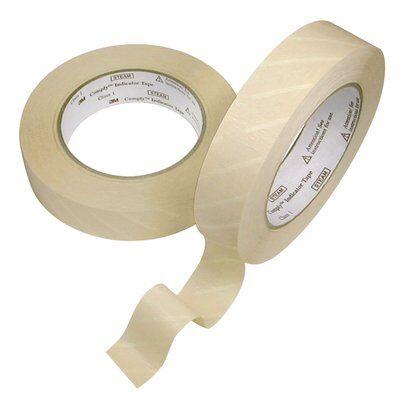 Autoclaaftape 55mx18mm stoomsterilisatie 1 rol (38030195)