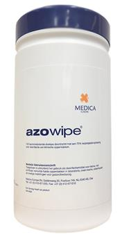 Azowipes 200x220mm dispenser à 200 stuks CTGB10354N (38043000)