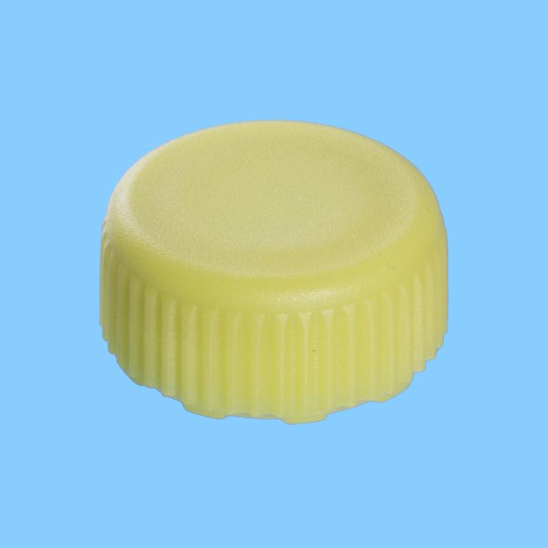 Schroefdop PP 46 mm, geel met O-ring (38116002)