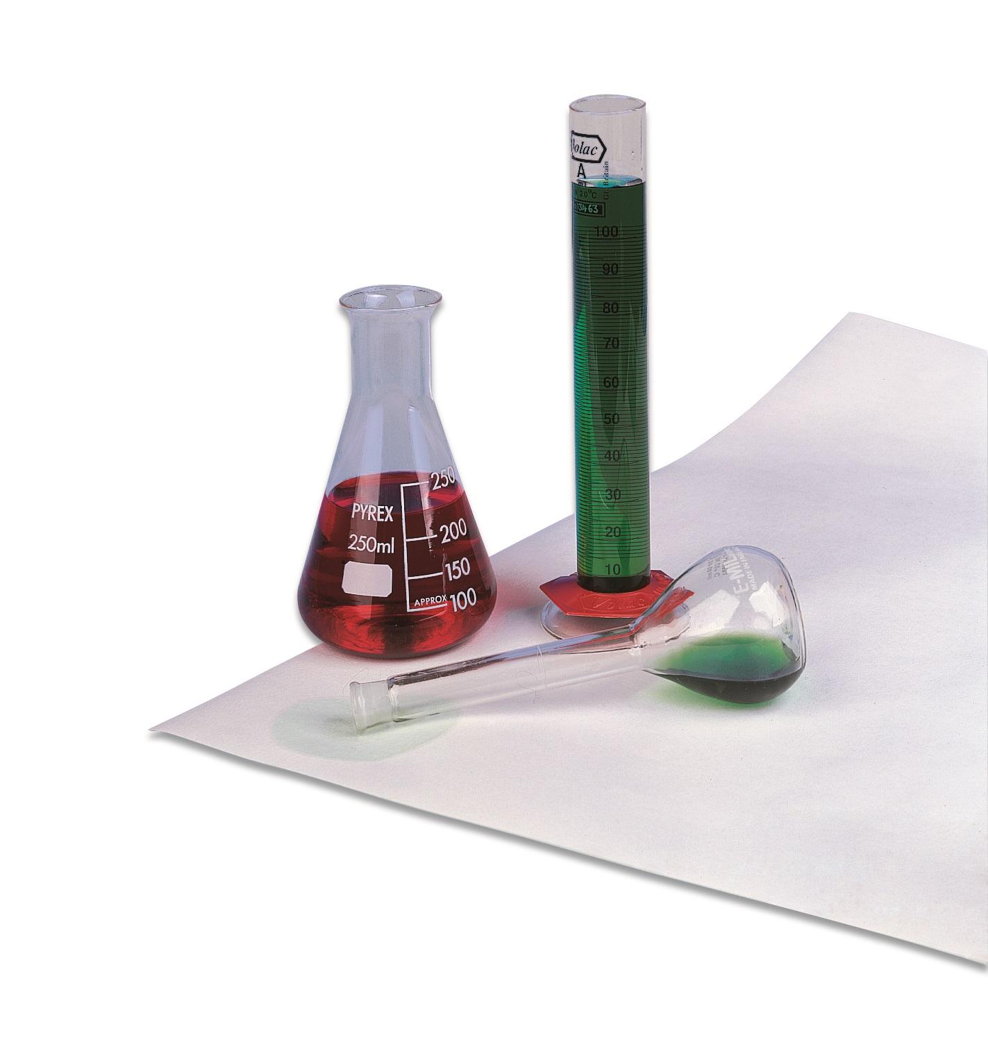 Afdekpapier, Benchkote® PE-rug vellen, breed 460mm lang 570mm (20960916)