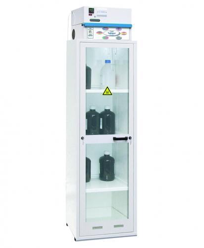 Luchtcirculatiefilteropzetten voor chemicaliëksten Labopur<SUP>®</SUP> serie H CORG51 actiefkoolfilter voor corrosieve en organische stoffen | LLG4007805