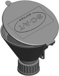 SCAT Veiligheidstrechter HDPE, (42106980) | LLG7628227