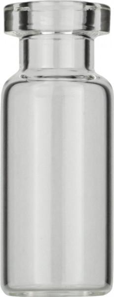 Vials 2 ml, glas 32x16 mm helder, Crimp-nek N13, vlak (45302018)