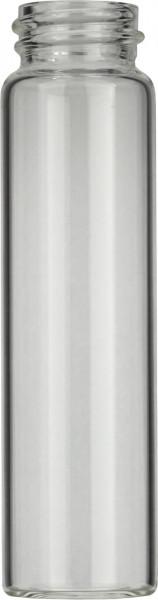 Vials 24 ml, glas 86x22,7 mm helder, schroefnek N20, vlak x (45302103)