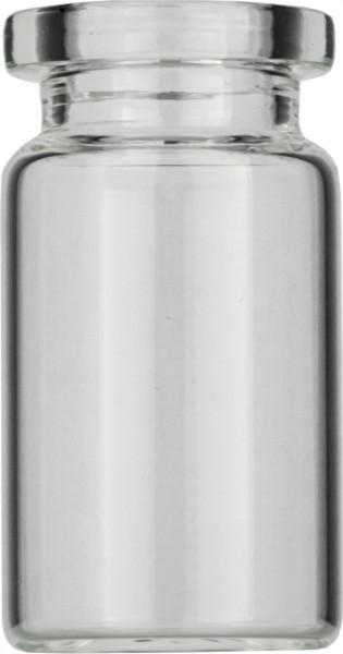 Vials 5 ml, glas 38x20,5 mm helder, Crimp-nek N20, vlak (45302106)