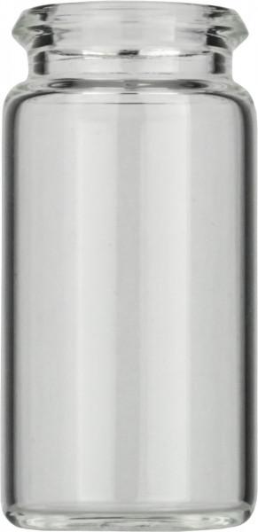 Vials 5 ml, glas 40x20 mm helder, snap-nek N18 (45302702)