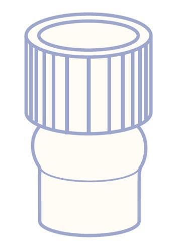 N8 PE plug v. 1 ml Vial, Shell   (45302809)