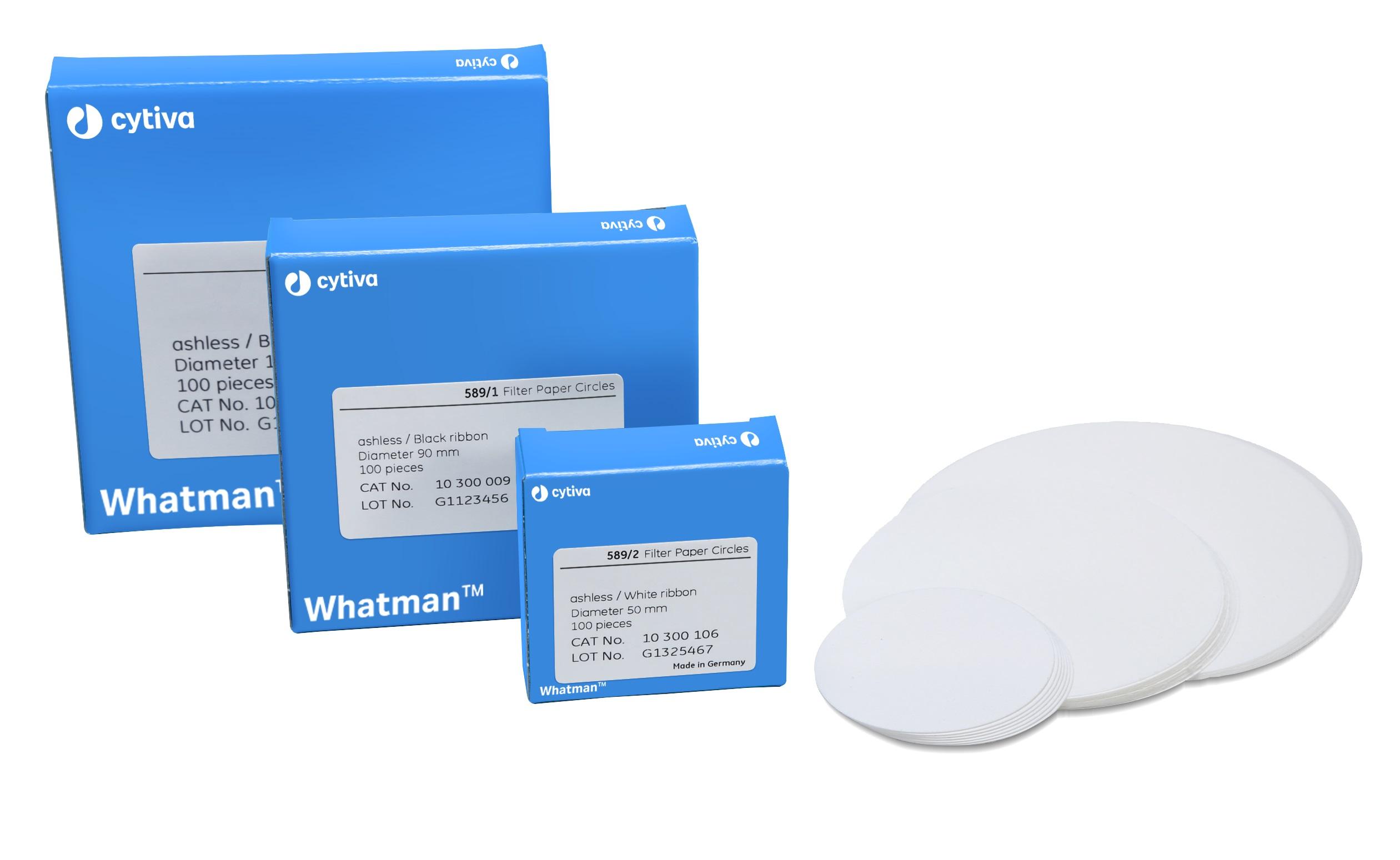 Rondfilters 589/2, Ø 240 mm, deeltjesretentie 4-12 µm, wit (20300120)