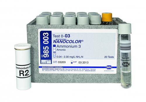 Kuvettentest COD 1500 Nanocolor 100 - 1500 mg/l O2 (91085022.0001)