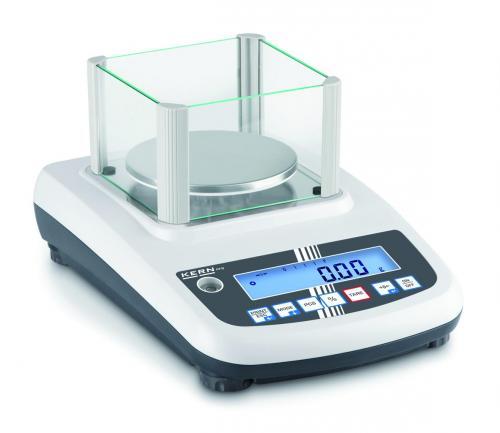 Precisiebalans PFB 300-3  300 g: 0,001 g, Ø 80 mm plaat (04191007)
