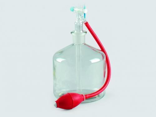 Hand ballon voor automatische buretten, rubber (LLG6237629)