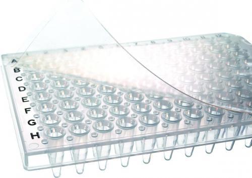 QPCR folie absolute, naturel zelfklevend, DNA/RNA vrij (41240725)