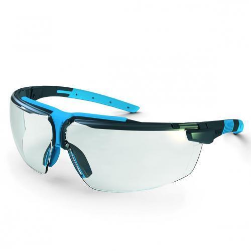 Veiligheidsbril i-3 - 9190 antraciet/blauw,glas PC kleurl (15390275)