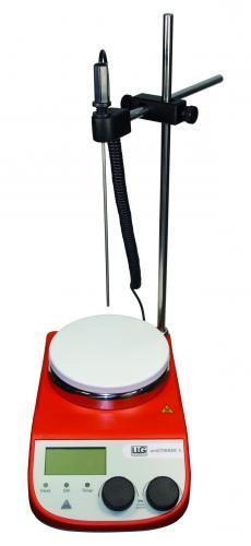 Magneetroerder uniSTIRRER 5 met verwarming omg. tot 340°C (41263440)