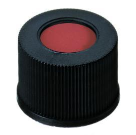 Schroefdop PP, ND10, zwart inlage rood rubber/TEF (41267111)