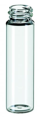Vials 16 ml, glas 71x20,6 mm helder, schroefnek ND18, vlak (LLG6280954)