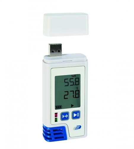 Datalogger temperatuur-vocht 0-100%, -40-+70:0,1°C, LOG210 (LLG6284758)