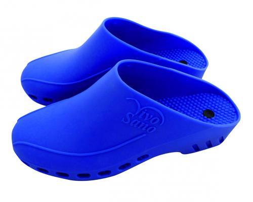 zonder riem Maat 37 / 38 Kleur blauw voor Cleanroomklompen