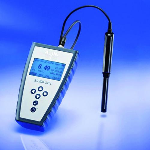 Zuurstofmeter SD 400 OXI L Set 3, m. sensor, 10 m kabel (11140020)