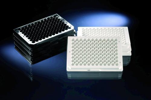 F96 Microwell platen, PS,  helder zon. Deksel onbehandeld (LLG6222441)