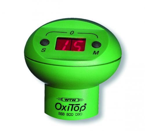 Meetkop Oxitop met display, interval 1x 24h/5 (01108810)