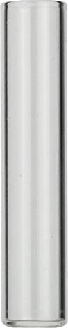 Vials 1 ml, glas 40x8,2 mm helder, Shell-vial N8, vlak (45302104)