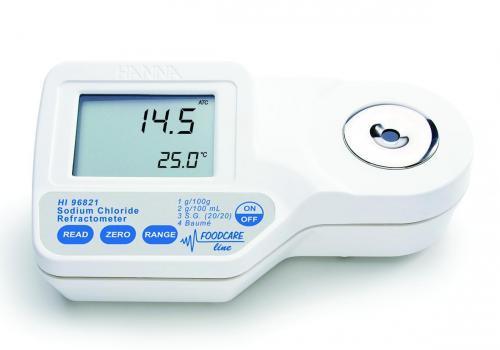 Refractometer digitaal voor zout (NaCl) (LLG7627062)