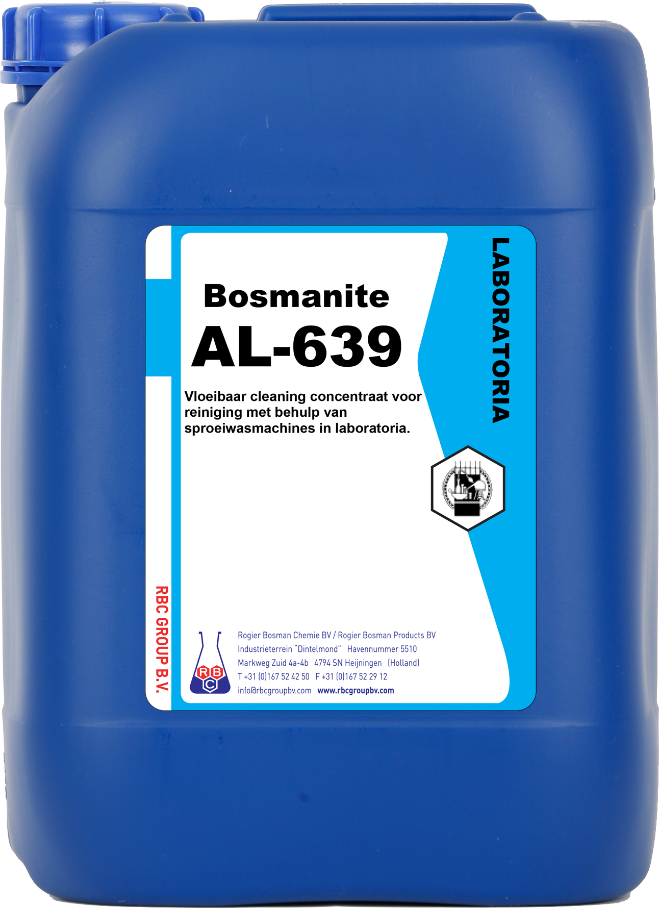 Bosmanite AL-639, vloeibaar reiniger, fosfaat- chloorvrij (77000428.9012)
