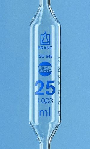 Volpipet 1 ml, kl. AS, AR-Gl. blauw gegrad. 1 markering (40639702)
