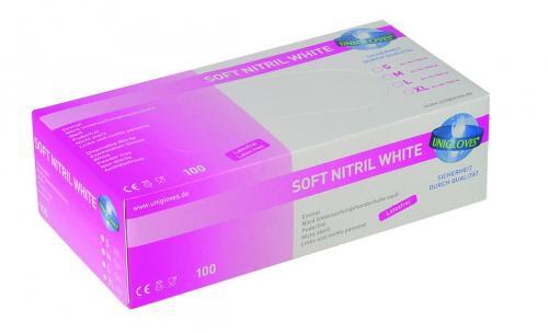 Handschoenen soft nitril mt S 6-7  poedervrij niet steriel (LLG9005362)