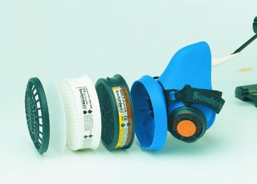 Breedbandfilter ABEK 1 voor Filters voor gelaatsmasker