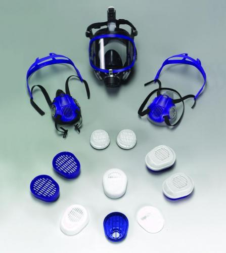 Deeltjesfilter X-plore® bajonet Pad P1 NR voor Gelaatsmaskers X-plore<SUP>®</SUP> 3300, 3500 en 5500